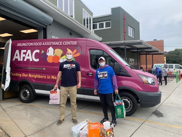 MilVets Caucus Monthly Food Drive