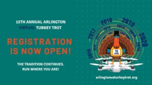 VIRTUAL - Arlington, VA Turkey Trot 2020