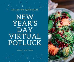 New Year's Day (Virtual) Potluck
