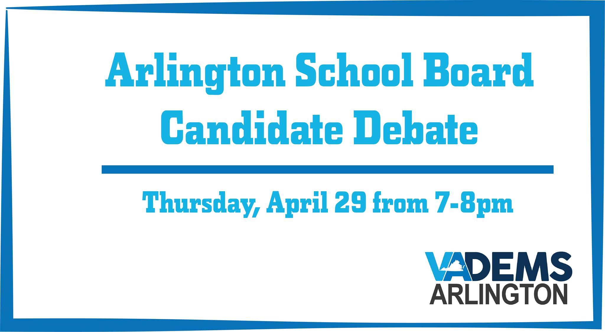 School Board Candidate Debate