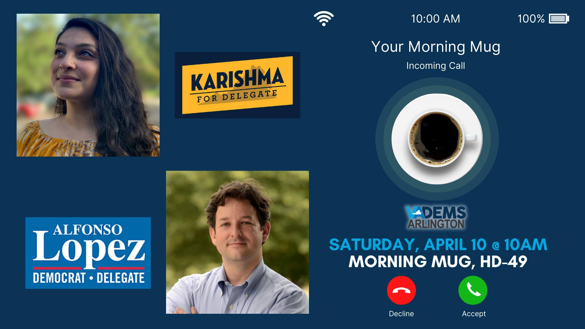 Morning Mug with the Candidates for HD-49