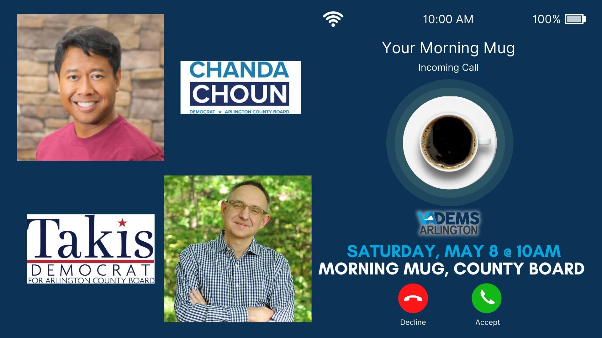 Morning Mug: County Board Candidates
