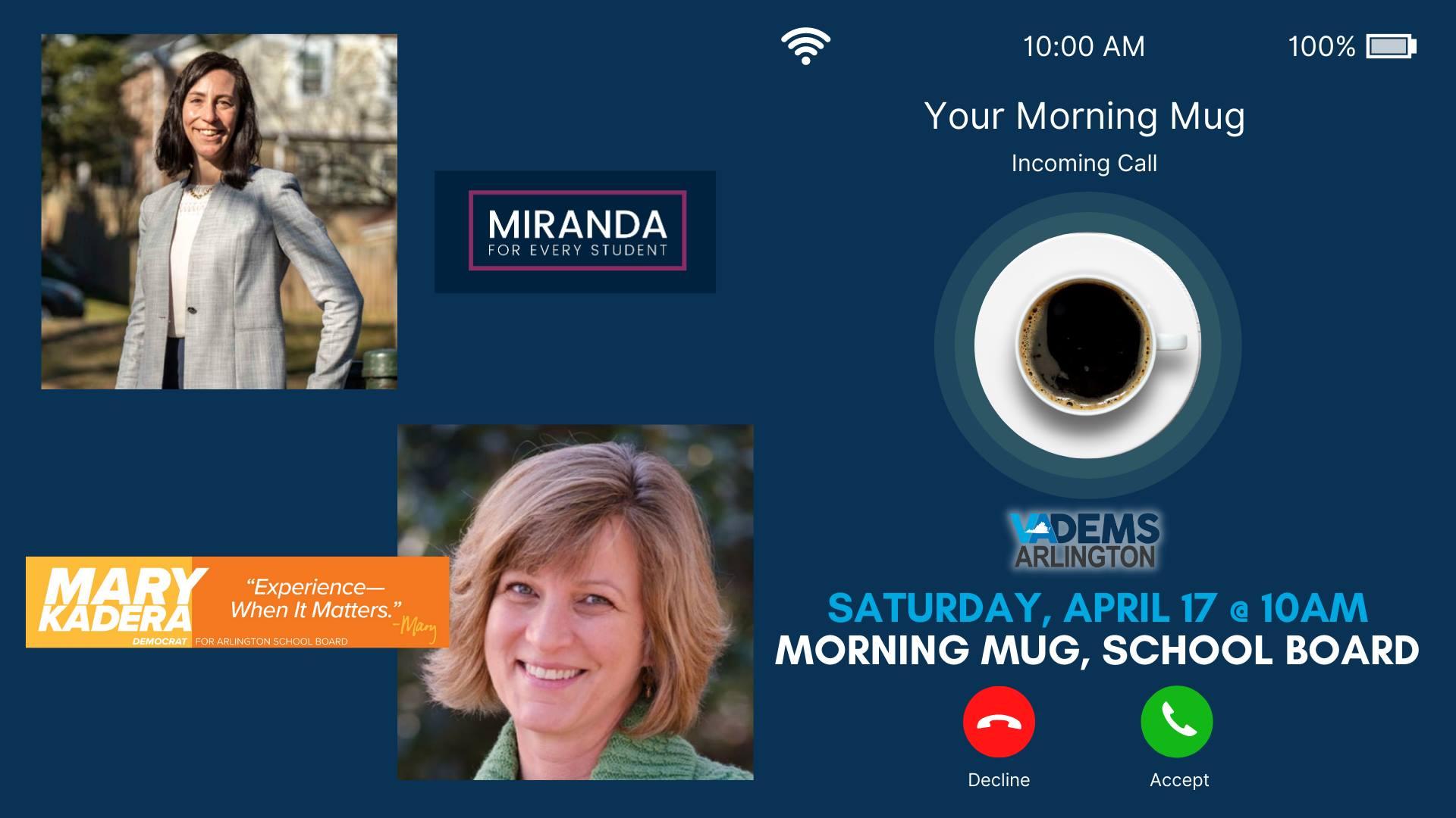 Morning Mug: School Board Candidates