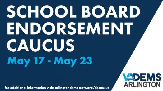 School Board Candidate Mary Kadera Tops Arlington Democrats' Record-Breaking Endorsement Caucus