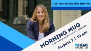 Morning Mug with Del. Wendy Gooditis