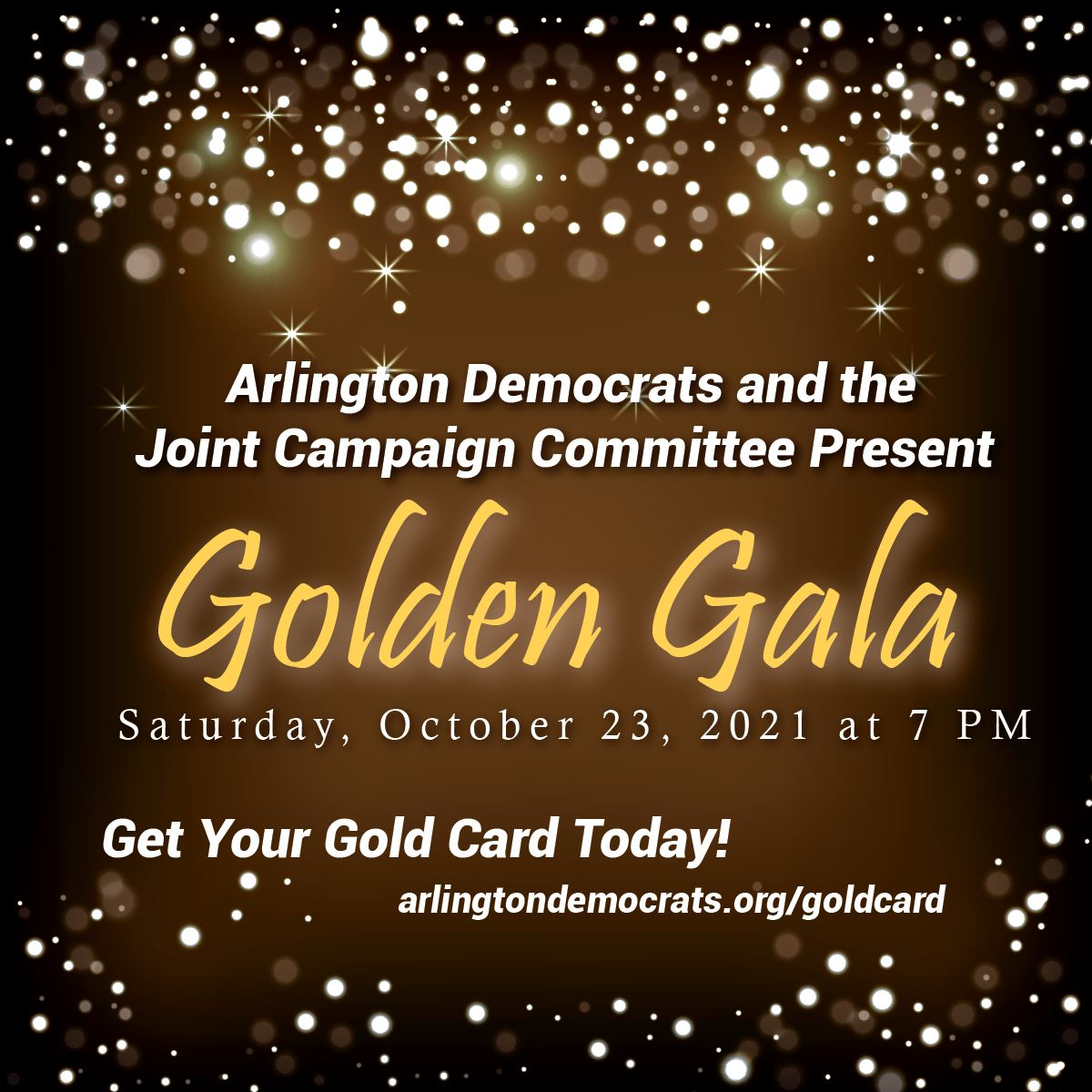 Arlington Dems Golden Gala