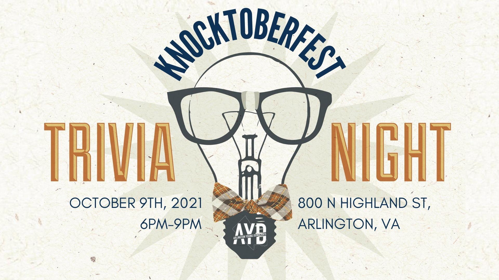 AYD Knocktoberfest Trivia Night